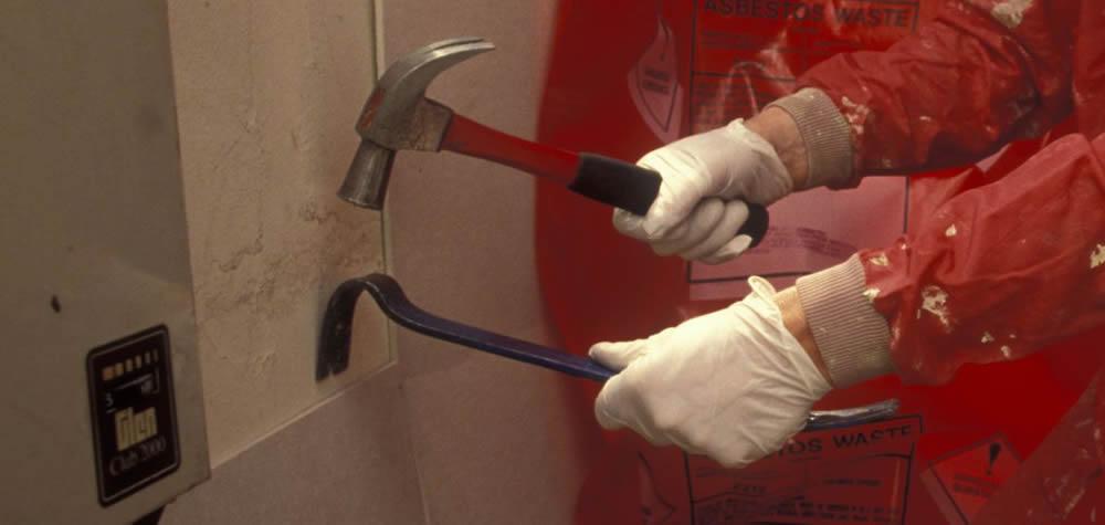 diy asbestos removal